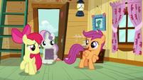 "Scootaloo ""not a bad way to start a day"" S7E6"
