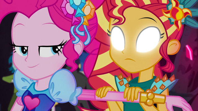 File:Sunset Shimmer views Pinkie's thoughts again EG4b.png