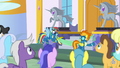 The Wonderbolts at a ribbon-cutting ceremony S7E7.png