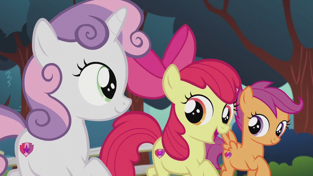 "File:Apple Bloom singing ""more than just a mark"" S5E18.png"