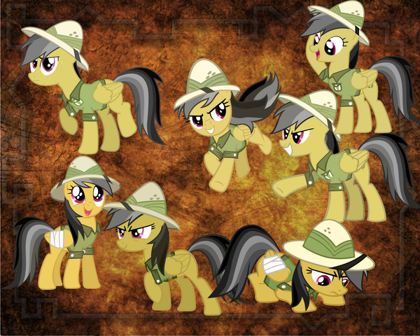 File:FANMADE Daring Do.png