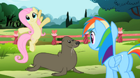 Fluttershy 'ten feet of air' S2E07