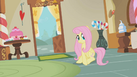 Fluttershy coming to a halt S1E10