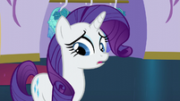 Rarity tongue-tied S5E14