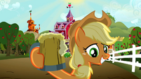 Applejack smiles S02E15