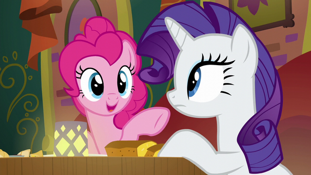 """File:Pinkie Pie """"I think that friendship problem"""" S6E12.png"""
