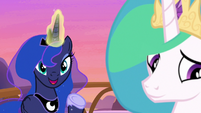 "Princess Luna ""I know you have to be perfect"" S7E10"
