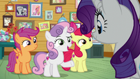 "Sweetie Belle ""what are you doing here?"" S7E6"