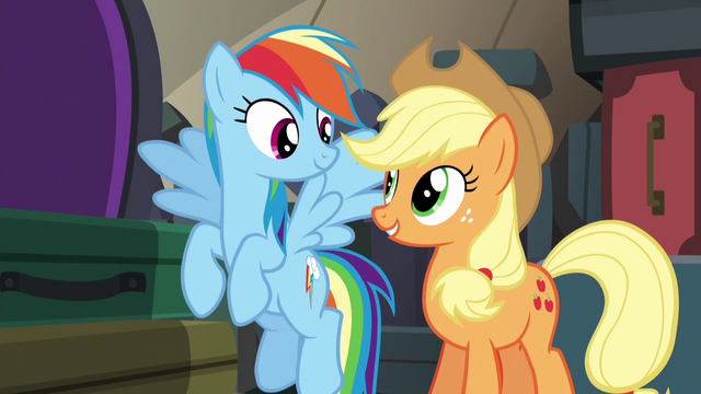 File:AJ and Rainbow ask Fluttershy and Pinkie for one more game S6E18.png