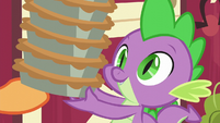 Applejack gives Spike a new order of pies S6E10