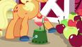 Applejack using an apple peeler S5E24.png