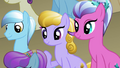 Crystal Ponies in the stands S3E02.png