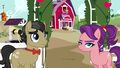 Filthy Rich and Spoiled Milk listen to Applejack S6E23.png