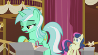 "Lyra ""some monster attacking Ponyville or something"" S5E9"