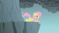 Fluttershy prepares to jump S1E07