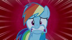 Rainbow Dash extra shocked S6E15