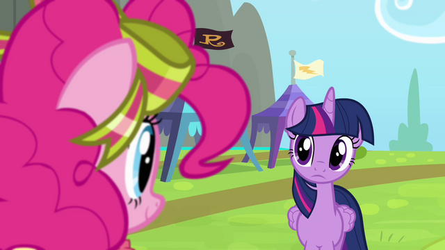 File:Twilight and Pinkie looking at each other S4E10.png
