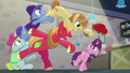 Big Mac and Feather Bangs with Flowers S7E8.png