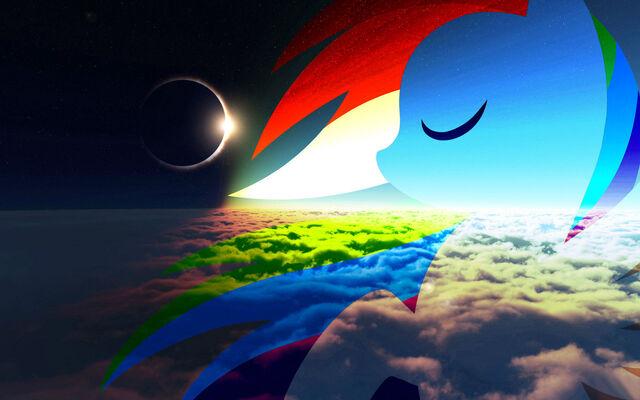 File:FANMADE Rainbow Dash eclipse wallpaper.jpg