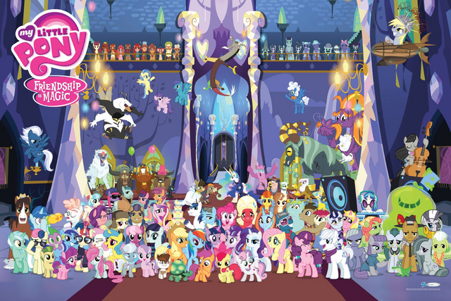 File:MLP Season Five Character poster.png