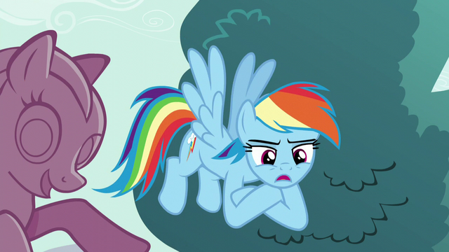 "File:Rainbow Dash ""I hope it's something about eating lunch"" S5E19.png"