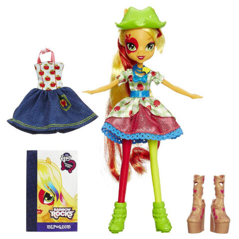 File:Applejack Equestria Girls Rainbow Rocks fashion set.jpg