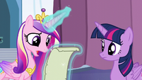 "Cadance ""It looks right to me, but"" S6E2"