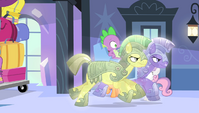 Crystal royal guards pick up Spike S4E24