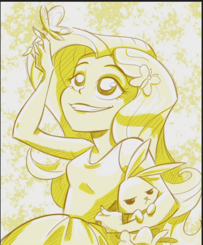 File:Fluttershy in the RR credits.png