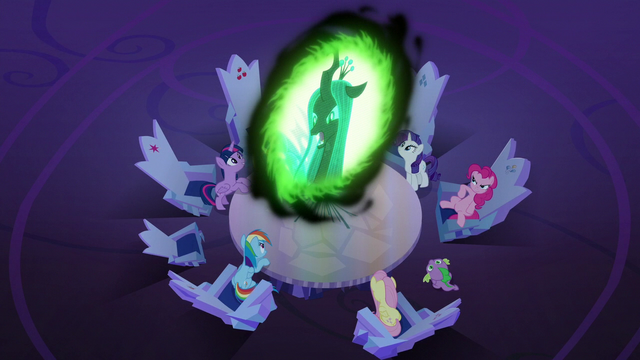 """File:Queen Chrysalis """"I can't take any of you seriously"""" S6E25.png"""