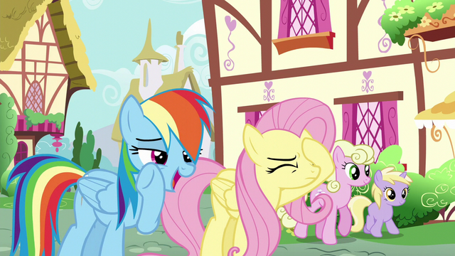 "File:Rainbow Dash ""she's a bit peeved"" S6E11.png"