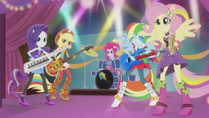 Twilight's friends rocking out on instruments EG2.png