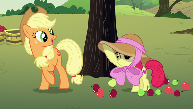 "File:Applejack ""you're the exception in our family"" S7E9.png"