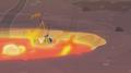 Celestia's letter burning in lava S2E21.png