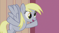 Derpy mentions Dr. Hooves' flameless fireworks S5E9.png