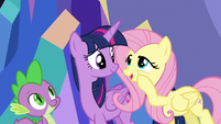 """Fluttershy """"some stuffed animals in your bedroom"""" S5E3"""
