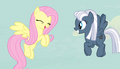 Fluttershy giddy giggle S5E1.png
