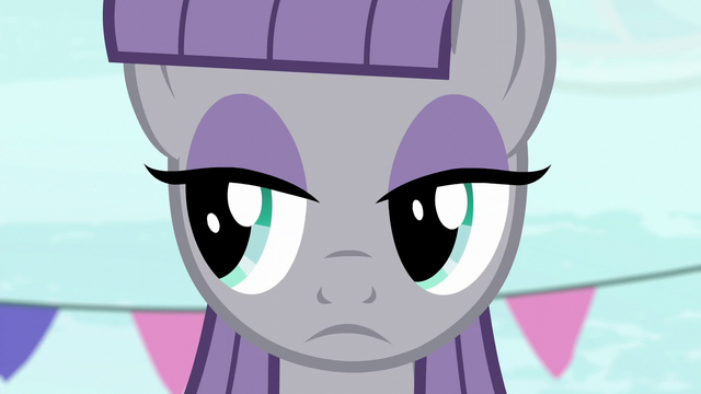 File:Maud Pie looking to the left S6E3.png