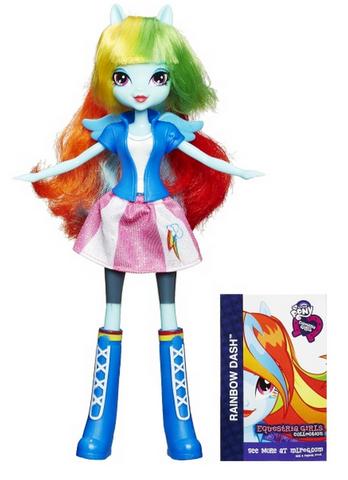 File:Rainbow Dash Equestria Girls show attire doll.png