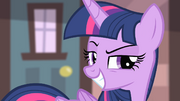 Twilight's grin S4E08