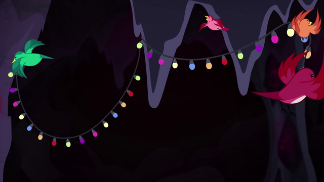 File:Birds hanging up lights in the crystal cave EG4.png