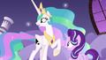 Celestia and Starlight hear Nightmare Moon's voice S7E10.png