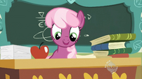 Cheerilee at her desk S02E12