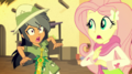 Daring Do nearly crashes into Fluttershy EGS2.png