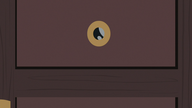 File:Dr. Fauna's eye appears in door peephole S7E5.png