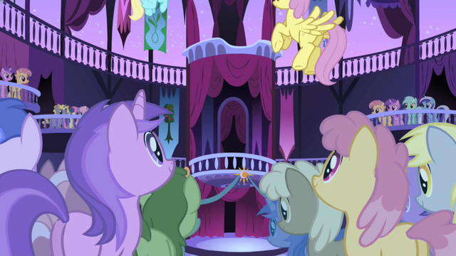 File:Ponies awaiting the celebration S1E01.png