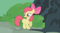 Apple Bloom gasping shockingly S2E12