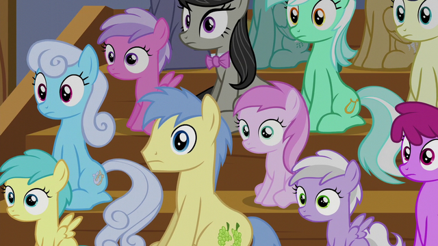 File:Audience of ponies with blank stares S6E4.png