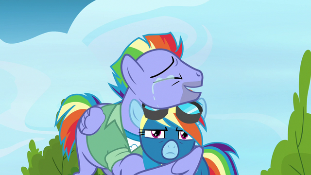 File:Bow Hothoof crying tears of pride S7E7.png