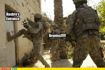 File:Bronies at Hasbro's door meme.jpg